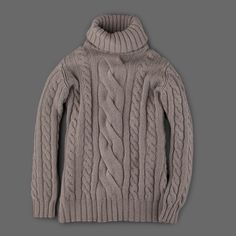 MILL MERCANTILE - Johnstons - Cashmere Roll Collar Sweater in Cloud