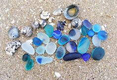 sea glass!!! Treasures I like to look for on vacation.