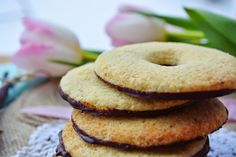 Troll a konyhámban: Vaníliás karika - paleo Paleo Sweets, Paleo Dessert, Snack Recipes, Snacks, Bagel, Bread, Vegan, Cookies, Fruit