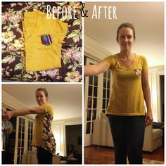 *This page is essentially an album of the refashions that I've done prior to starting this blog. I've shared all of these at Refashion Co-o...