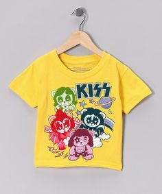 Any little rocker can keep the beat in comfort thanks to this terrific graphic tee. With cuddly soft material and durable construction, this musical number rockets to the top of the playtime charts.100% cottonMachine wash; tumble dryMade in Haiti