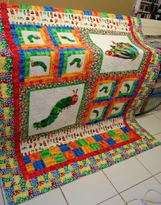 The Very Hungry Caterpillar Quilt: Rose.....get on it! Lol not ... : the hungry caterpillar quilt - Adamdwight.com