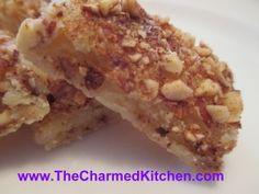 Cinnamon Pecan Shortbread Cookies | The Charmed Kitchen