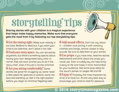 Want to be a brilliant storyteller? Our top tips from Storytime magazine! ~ STORYTIMEMAGAZINE.COM