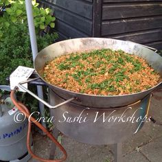 Fried rice - gardenparty by Crea Sushi Workshops