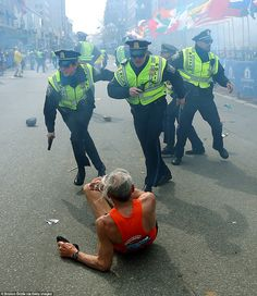 Seventy-eight-year-old Bill Iffrig, who fell to the ground in the seconds after the blasts, has become one of the unfortunate icons of the Boston marathon bombings