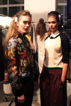 Copenhagen Fashion Week: Backstage @ Wood Wood