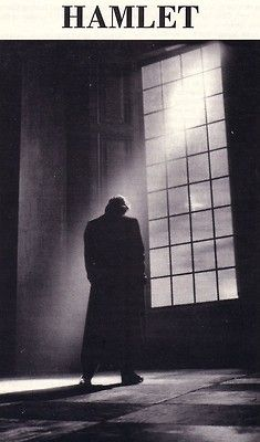 This dark and gloomy picture reminds us of Hamlet's charactar throughout the play. After his father's death, Hamlet slips into a deep depression and feels utterly alone. He has no one to turn to after both Claudius and Gertrude tell him to move on and he eventually is driven to madness