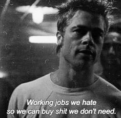 This script is my bible // Fight Club 👊🏾 Fight Club Quotes, Loving You Movie, Fight Club 1999, Best Motivational Videos, Best Movie Quotes, Film Quotes, Tyler Durden, Bollywood, Pretty Quotes