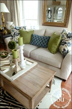 Pillow Ideas for Couch - If you have some old sofas on your living room or family room, you could be tired of older and