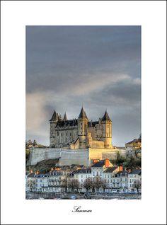 Saumur, Pays de la Loire_ France