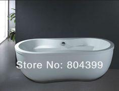 B520  resin freestanding bathtub quality craft morden  bathtub soaking bath tubs $1,308.00