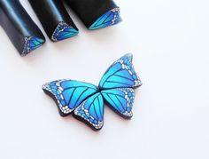 Мастер-класс: кейн крыло бабочки из полимерной глины FIMO/polymer clay t...