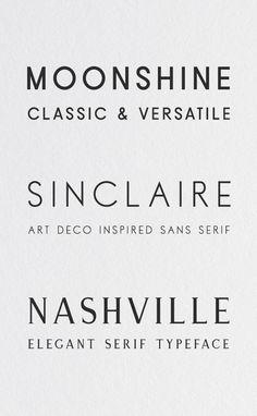 like the moonshine :Modern Typefaces Modern Typeface, Modern Typography, Modern Fonts, Typography Letters, Lettering, Typography Logo, Typography Design, Branding Design, Contemporary Fonts