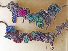 Art Threads: Friday Inspiration - Free Form Crochet