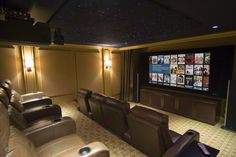Home Theater Design Ideas, Pictures, Remodel, and Decor - page 3