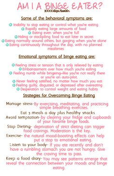 Doing a huge research paper on binge eating disorder right now - every girl should take a look at this. BED is the most prevalent of all eating disorders.