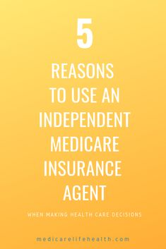 The top five reasons why it is a good idea to use an independent Medicare Insurance agent when comparing companies and plans. Agents can help in health care decisions including Medicare Advantage and Medigap (Medicare Supplement Plans). Retirement Strategies, Retirement Advice, Retirement Planning, Health Insurance Options, Supplemental Health Insurance, Life Insurance Agent, Insurance Marketing, Health Care, Finance