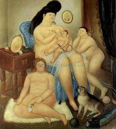 Fernando Botero  Protestant-Family