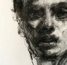 Discover The Secrets Of Drawing Realistic Pencil Portraits.Let Me Show You How You Too Can Draw Realistic Pencil Portraits With My Truly Step-by-Step Guide. Portrait Au Crayon, L'art Du Portrait, Pencil Portrait, Life Drawing, Figure Drawing, Painting & Drawing, Drawing Faces, Charcoal Portraits, Charcoal Art