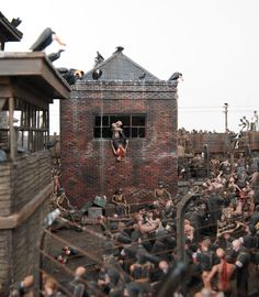 depictions of hell by jake and dinos chapman at the hermitage Jake And Dinos Chapman, 3d Things, Tiny World, Military Diorama, Political Issues, Art World, Sculpture Art, Art Photography, Scenery