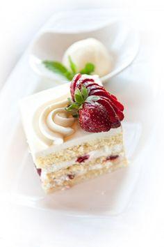 Strawberry Limoncello Cassata Cake