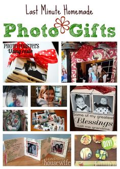 Photo gifts are often some of the most treasured blessings people receive. They last for years and are capable of bringing back sentimental memories! Check out some of the most creative Last Minute Homemade Photo Diy Christmas Presents, Homemade Christmas Gifts, Christmas Photos, Homemade Gifts, Christmas Stuff, Christmas Crafts, Xmas, Dad Birthday Quotes, Birthday Cards For Boyfriend