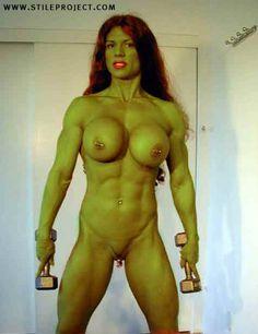 giant fake boobs