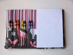 Children's Crayon Wallet Coloring Case  by gracieloukangaroo, $12.00