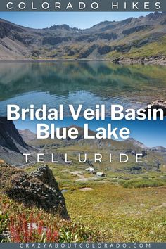 Bridal Veil Basin to Blue Lake will leave you stunned with its scenic beauty. The popular 365′ Bridal Veil Falls, the tallest free-falling waterfall in Colorado is the first highlight of many more to come as you hike deeper into the Bridal Veil Basin. Hiking in the San Juan Mountains never disappoints! Located at the edge of town in Telluride, CO, it is one not to miss! Snowshoe, Rafting, Snowboard, Colorado Hiking, Telluride Colorado, Travel Usa, Canada Travel, Family Adventure, Outdoor Woman