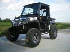 atv with enclosed cab and dump bucket | Contest for Ride of the month - Page 5 - Arctic Cat Prowler Forums ...