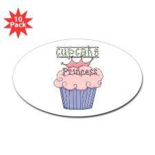 Cupcake Princess Decal