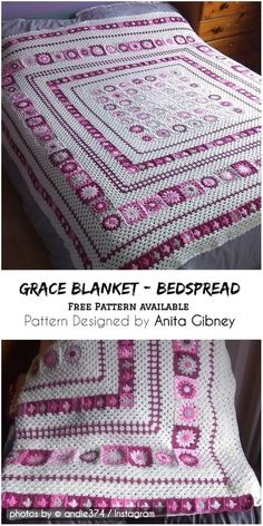 Adorable Grace Blanket Crochet Pattern Idea