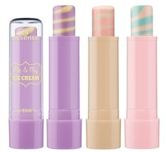 New Collection: Essence lip balms (Me & My Ice Cream Summer 2013) #makeup #trends #mychicssportstyle