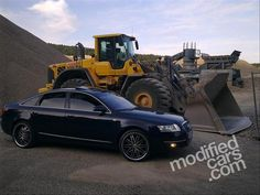 Modified Audi A6 3.2Q 2005
