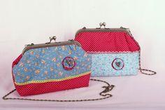 IMAGINANDO TELAS: Bolsos con un aire vintage