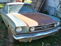 Grandma's Hand-Me-Down 1966 Ford Mustang Hi-Po GT Fastback with