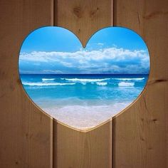 My fence would definitely have a heart in it so I could see the ocean!!!!