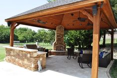 wood patio awning pictures - Google Search