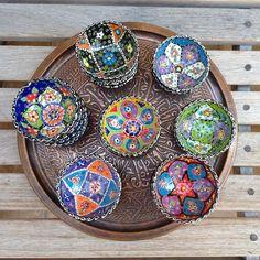 Turkish Porcelain Mini-Bowls | Odyssey Imports