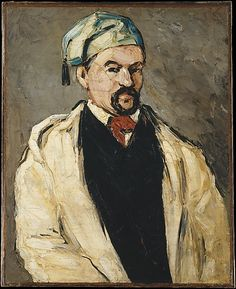 Paul Cézanne (French, 1839–1906). Antoine Dominique Sauveur Aubert (born 1817), the Artist's Uncle, 1866. The Metropolitan Museum of Art, New York. Wolfe Fund, 1951; acquired from The Museum of Modern Art, Lillie P. Bliss Collection (53.140.1) #mustache #movember