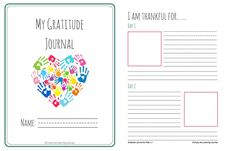 Your children can reflect on what they are thankful for with this 31-day free printable gratitude journal for kids with areas for writing and drawing!
