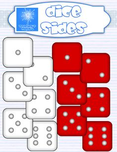 {FREE} Dice sides clipart