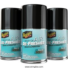 The Meguiar's Whole Car Air Freshener creates an ambience in your car that just does not eliminate odour but uplifts your mood too. When the fragrance is released from the can, leave the cold recirculated air on. Afterwards, open your windows and let the car air out. Owing to the foul smell elimination and replacing it with a new scent, the product is being viewed as one of the best smelling car air fresheners being sold by Meguiar. Click on the picture and get more information about it... Best Car Air Freshener, Febreze Car, Air Car, Car Bomb, Odor Eliminator, Mists, Ebay, Things To Sell