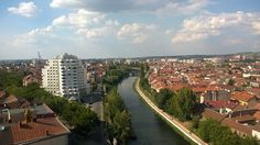 Panoramic Photography of the city Oradea Panoramic Photography, Urban Landscape, Landscape Photographers, Beautiful Landscapes, San Francisco Skyline, Amazing Photography, River, Architecture, City