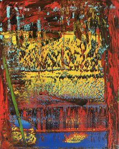 Abstract Oil Painting - RM 835 - 16 (Malerei),  100x80x1,8 cm von Rico Mocellin…