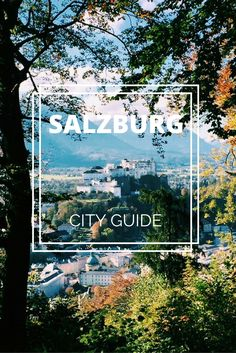 City Guide to Salzbu