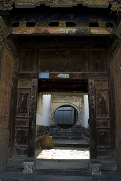 An old courtyard house in my hometown. Jianshui, Yunnan province. China.