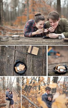 This has got to be one of the most dreamy engagement shoots Ive ever seen. In my entire wedding-obsessed life. Camping Photography, Couple Photography Poses, Engagement Photography, Engagement Shots, Engagement Pictures, Winter Engagement Party, Winter Camping, Anniversary Photos, Engagement Inspiration