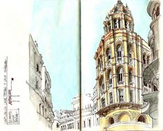LOVE these sketches! And the building structure is gorgeous!